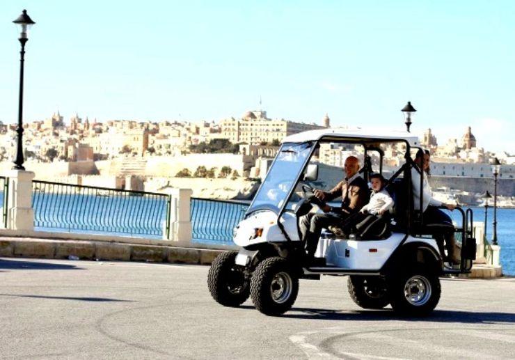 Malta electric buggy tour self drive