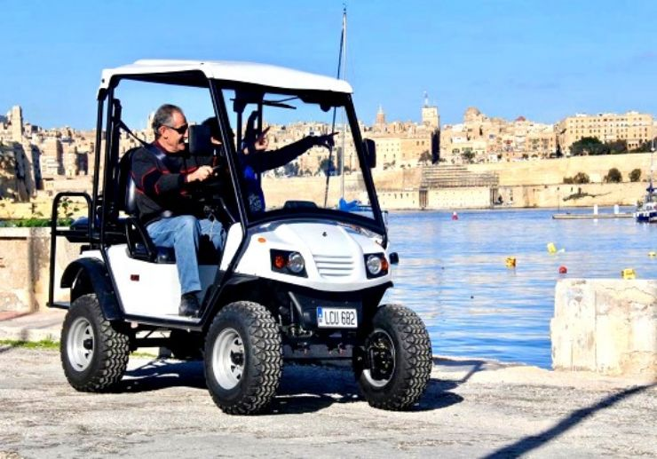 Self guided electric buggy Malta self drive