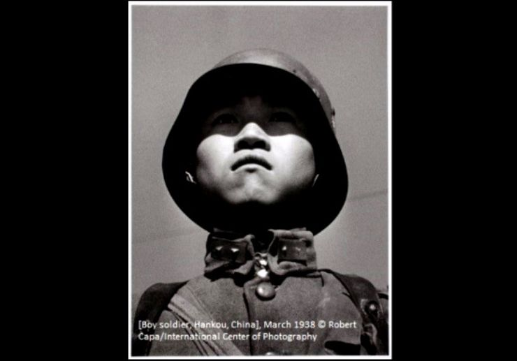 Robert Capa Photography Centre Budapest Boy
