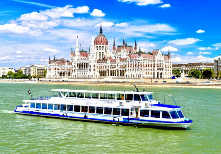 Witness Budapest Parliament on river cruise