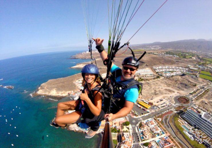 Paragliding in Costa Adeje Tenerife