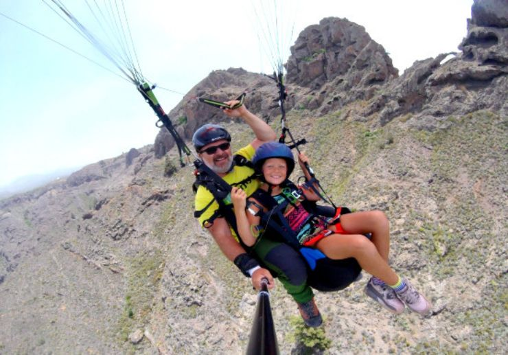 Paragliding in Tenerife for all ages