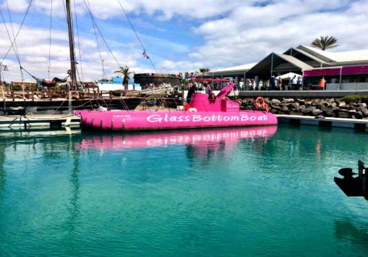 glass bottom boat trip Fuerteventura