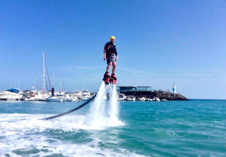Caleta Fuste flyboard experience