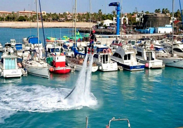 Flyboard at Puerto de Castillo Fuerteventura
