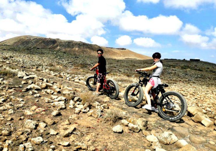 Fuerteventura electric bike tour from Lanzarote