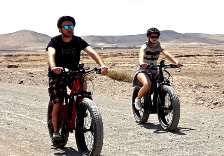 Fuerteventura bike tour from Lanzarote