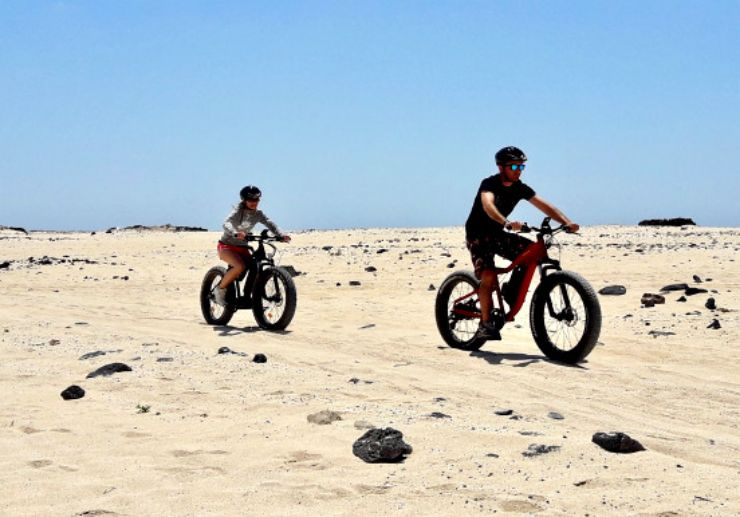 Nothern fuerteventura cycling tour ex Lanzarote