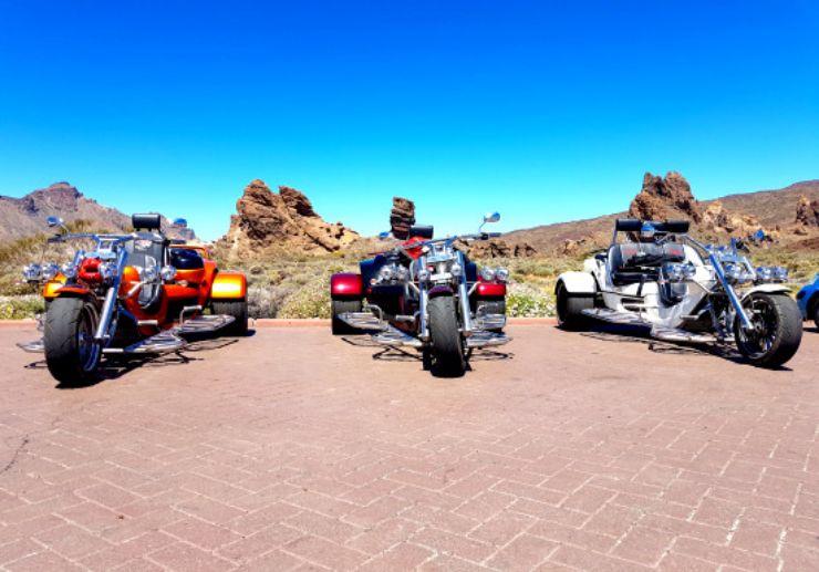 Trike excursion in Tenerife