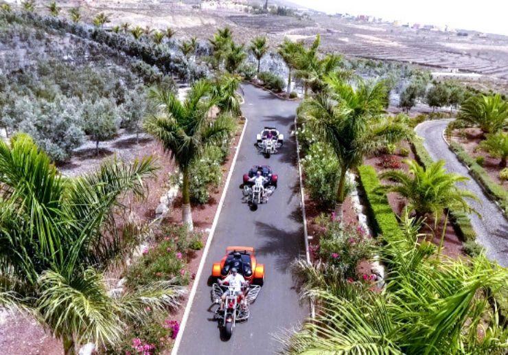 discover impressive landscapes on trike