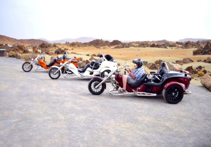 Explore Teide on trike excursion