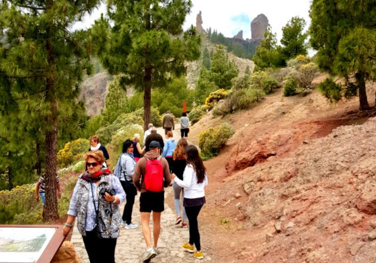 Roque Nublo viewpoint Gran Canaria excursion