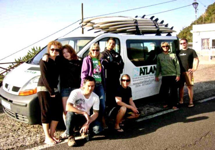 Mobile surf vehicle Puerto de la Cruz