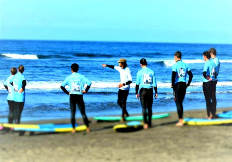 Surf lessions Tenerife north