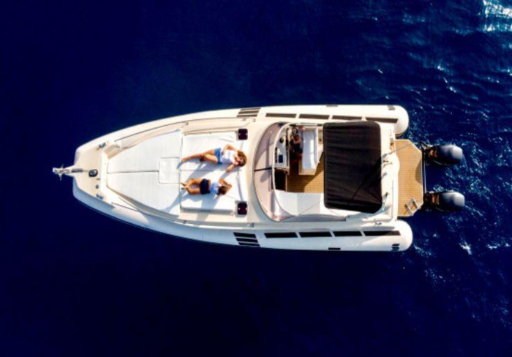 Luxury speedboat private charter Tenerife