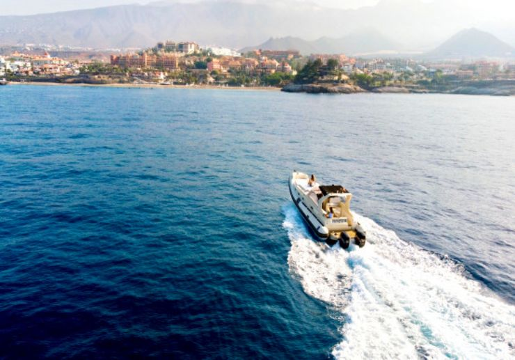 Discover Tenerife south coast with private speedboat
