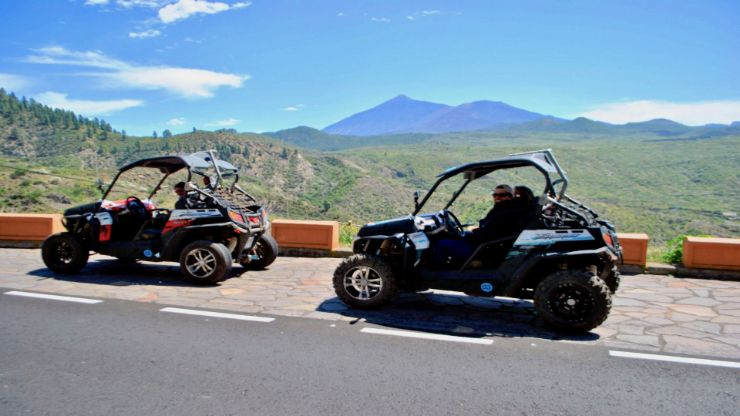 Buggy Teide combo tour with jet ski