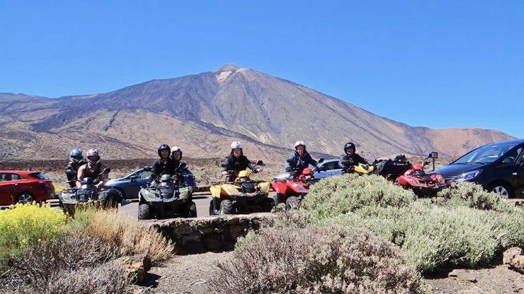 Teide quad aventure Tenerife