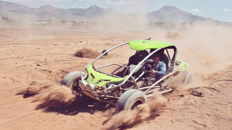 Off road buggy ride Tenerife