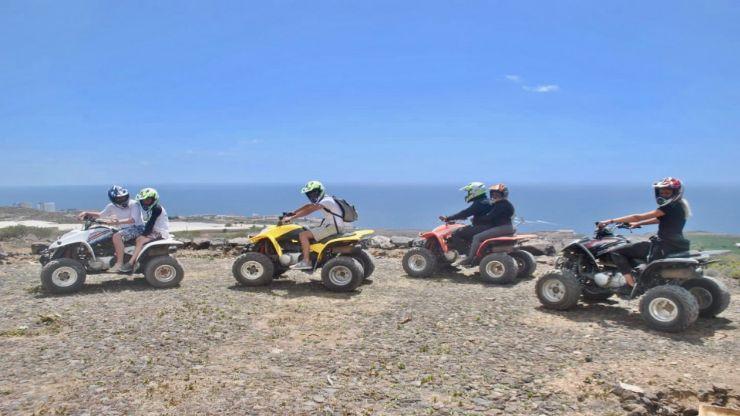 Quad adventure Tenerife coastal rush