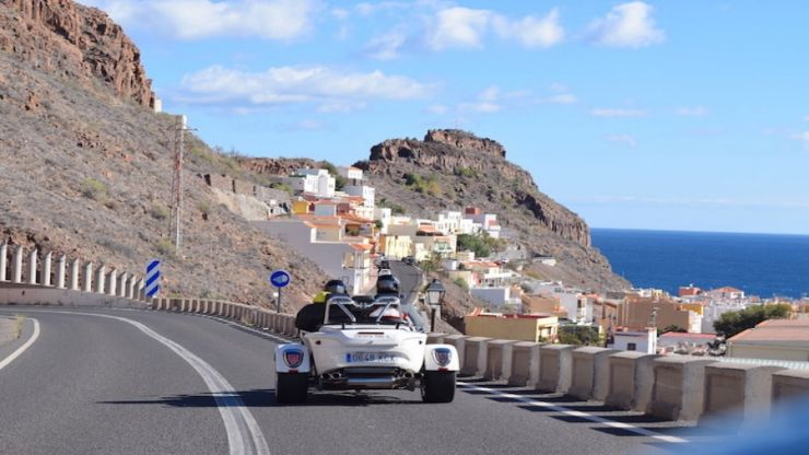 La Gomera Trike tour from Tenerife