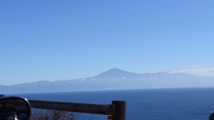 Teide view from La Gomera