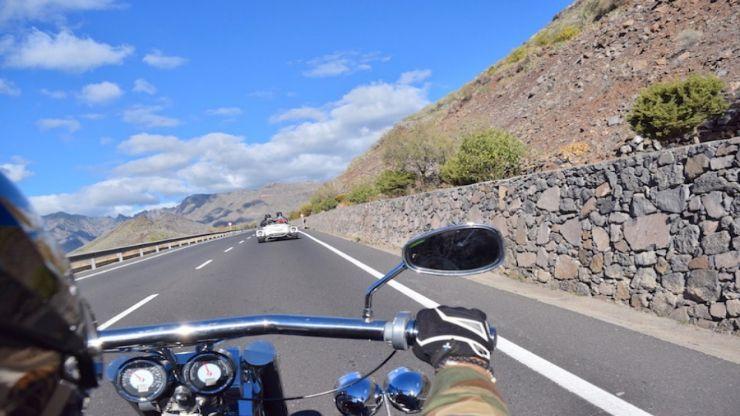 Road trip on trike La Gomera