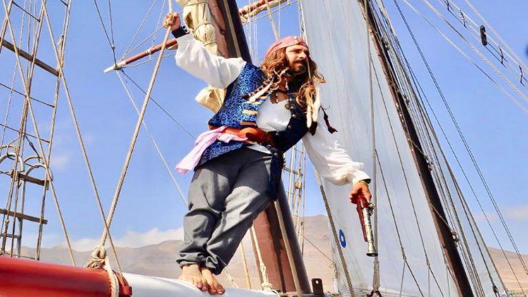 Enjoy sailing with pirate captain in Fuerteventura