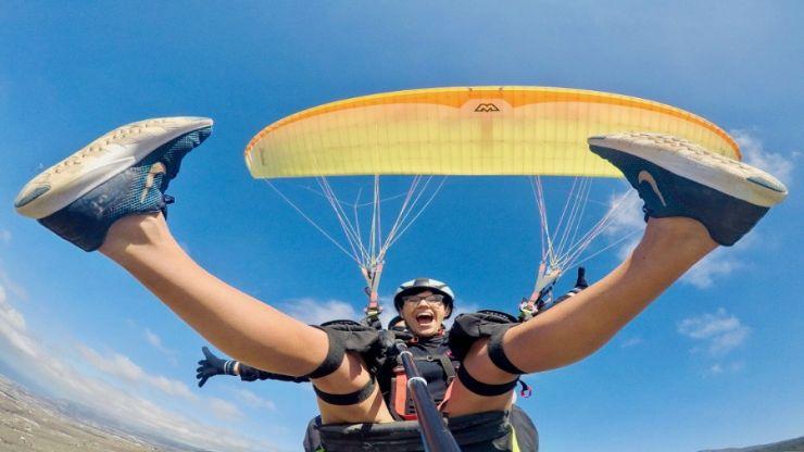 paragliding Tenerife get your adrenaline pumping