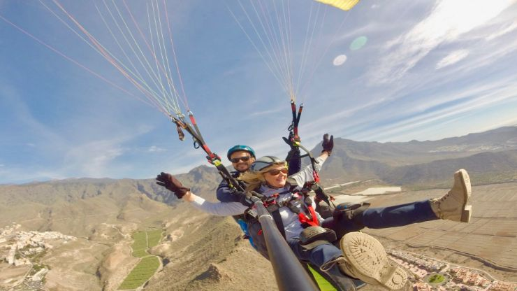 Tenerife paragliding for all ages
