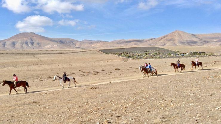 Horse riding the heartland of Lanzarote