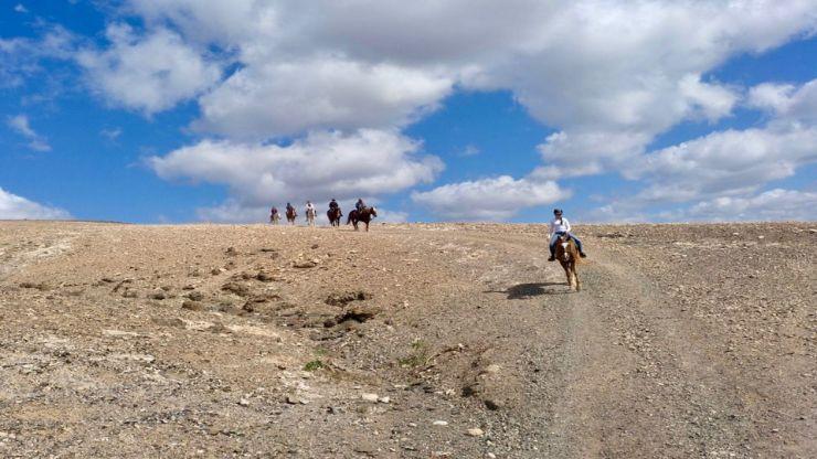 Horse riding tour Lanzarote heartland