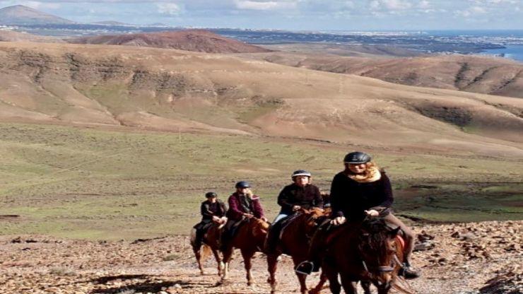 Lanzarote horse riding ajache to papagayo