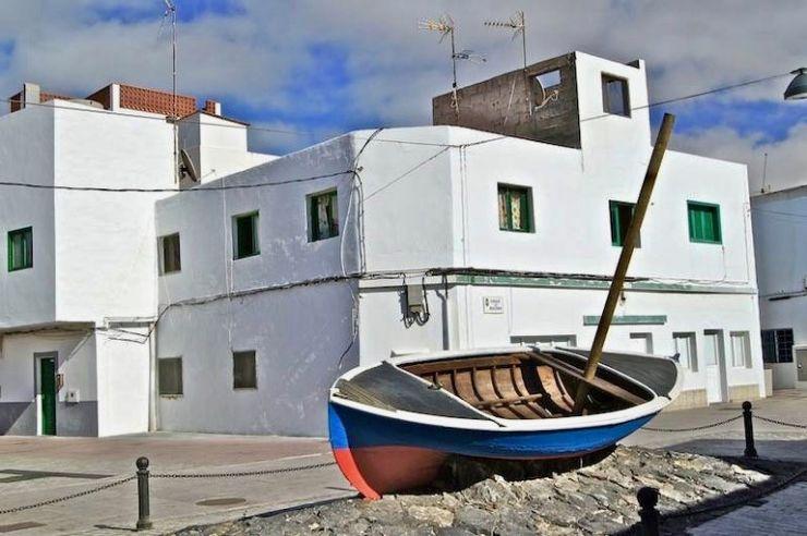 Corralejo rustic old fisherman quarter