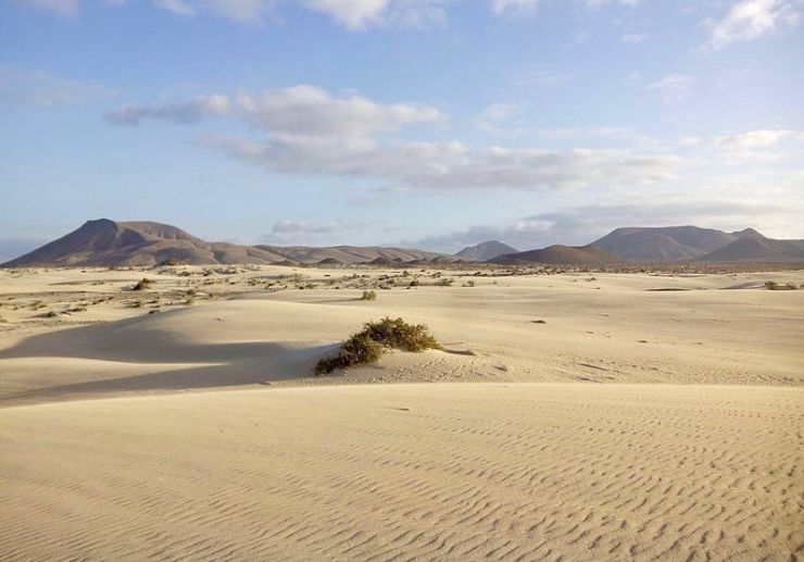 DIY trip to Corralejo sand dunes natural park in Fuerteventura
