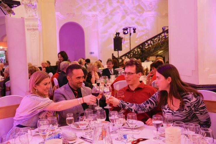 Gala dinner Budapest new year eve