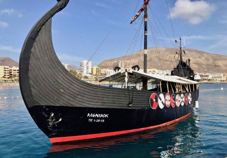 Tenerife viking boat trip with food drink and transfer